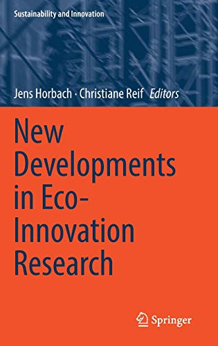 New Developments in Eco-Innovation Research (Sustainability