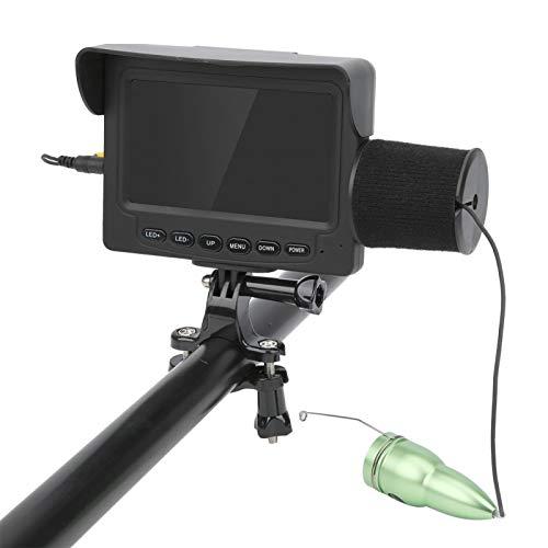 魚群探知機調整可能LED4.3インチ水中カメラビデオ養殖の監視に適した海洋用1200TVLモニター(15 meters in length)