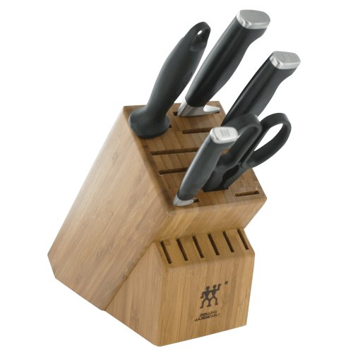 Zwilling J.A. Henckels Twin Four Star II 6 Piece Knife Block Set - http://coolthings.us