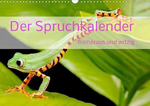 Der Spruchkalender - freiheraus und witzig (Wandkalender 2021 DIN A3 quer)