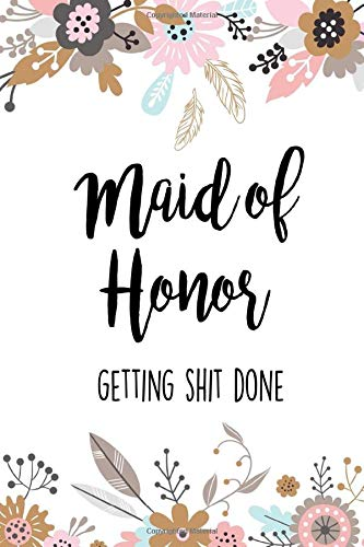 The Maid Of Honor Planner