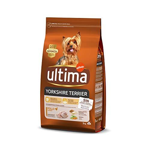 Ultima Pienso Perros Yorkshire Terrier Pollo - 3 kg