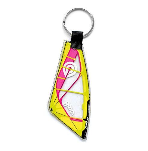 Windsurfing Schlüsselanhänger Real Windsurfen Sail | Windsurfen Schlüsselanhänger (Goya Banzai Pro)