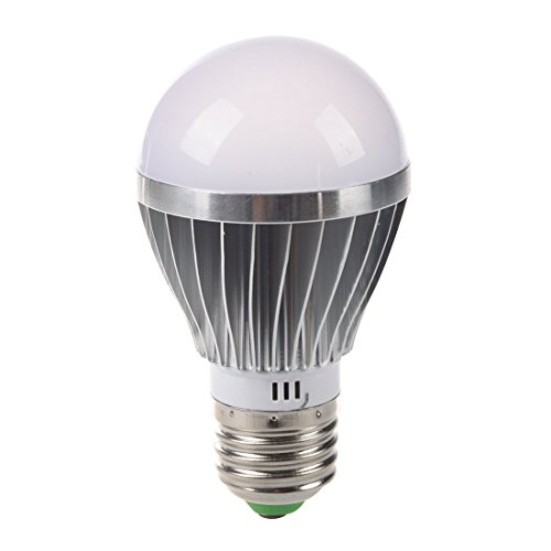 TOOGOO(R) E27 5w 12v Haute Puissance Ampoule Lumiere Blanche