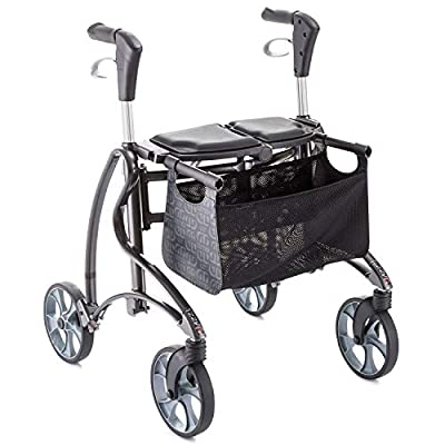 Invacare Dolomite Jazz 2 610 - Andador con ruedas, color gris
