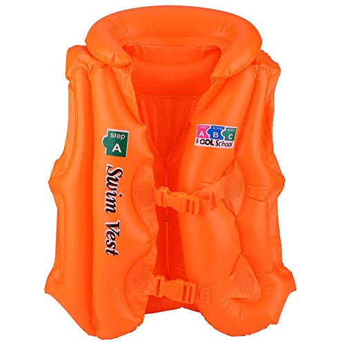 Niiyen Chaleco Salvavidas, Chaquetas de Seguridad para Nadar para niños Chaleco Salvavidas Chaleco Salvavidas para navegar, Pescar a la Deriva(L)