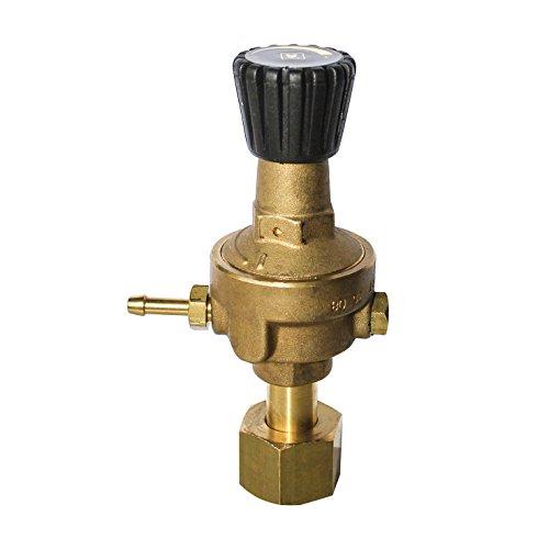 Telwin 722341 Riduttore Pressione Bombola Ricaricabile, 0.1 V, Ricaricabile, Oro
