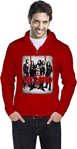 Get Scared Band Männer ReißverschlussHoodie Men Zipper Hoodie Stylish Fashion Fit Custom Apparel By Genuine Fan Merchandise XX-Large