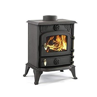Mazona Rocky 6kW Smoke Exempt Multi Fuel Wood Burning Stove (JA013)