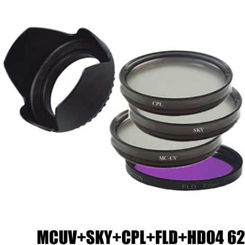 DynaSun Kit Filtro Multicoated UV MCUV 62 mm + Polarizzatore