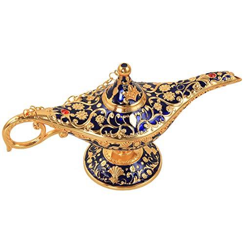 kilofly Aladdin Costume Prop Vintage Mesa Decoracin Grande Decoracin Genie Lmpara