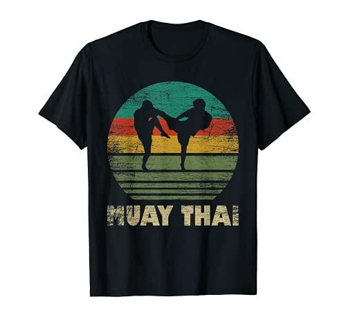 Muay Thai Martial Arts Retro Für...