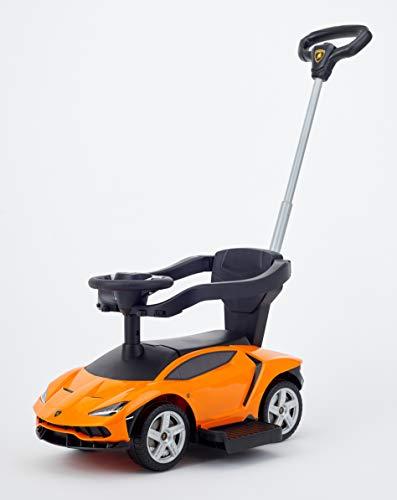 野中製作所 乗用 ランボルギーニ チェンテナリオ 手押し付き オレンジ