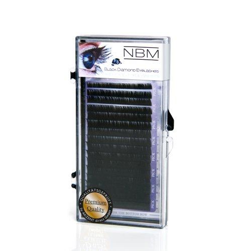 NBM BDC Silk Lashes B-Curl 0,15 - 12 mm, 1er Pack (1 x 4160 Stück)