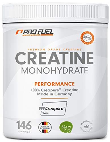 Creatin Monohydrat Pulver | 100% Creapure - Weltweit No.1 Kreatin | Geschmacksneutral | 500 g Creatine | KRAFTSCHUB