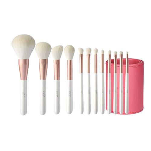 Pinceau de maquillage Beauté Set Petit Blanc Brosse 12 Souple débutant Cheveux de Maquillage de Brosses Pinceaux Sets
