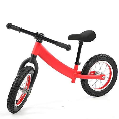Qqmora Bicicleta Deslizante para niños, Marco de Acero de Nailon, Deslizamiento para niños, Juguetes para niños, Regalo para Cultivar el interés(Red)