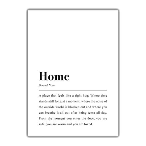 Home Definition: DIN A4 Poster
