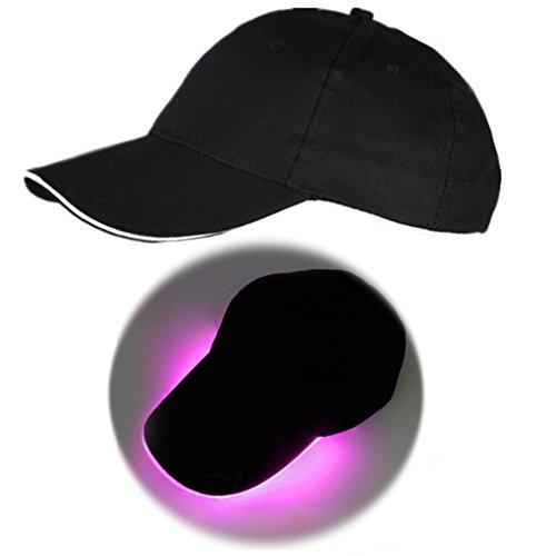 wufeng Gorra de béisbol de luz LED Glow En con Cap Rendimiento...