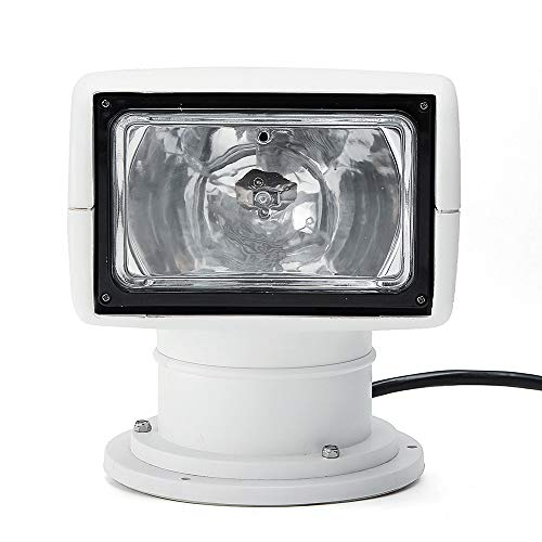 C-Funn 12V 100W 2500Lm 3200K LED afstandsbediening voor boten, Spotlight Truck Car Marine Search Light