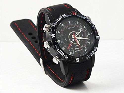 NK NK-RC3007SPY - Reloj DE Pulsera con CÁMARA Y MICRÓFONO Oculto
