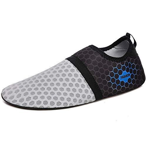 Zwemschoenen, blote voeten, voor mannen en vrouwen, yoga, fitness, strandschoenen 39 EU grijs