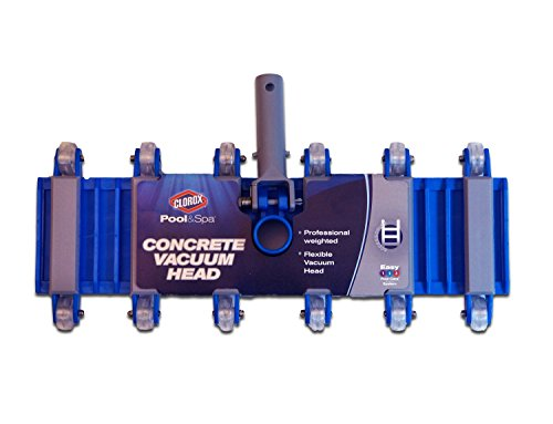 Clorox Pool&Spa 96200CLX Concrete Vacuum Head