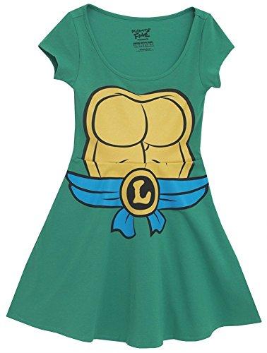 Teenage Mutant Ninja Turtles Green Costume Skater Dress (Mike S)