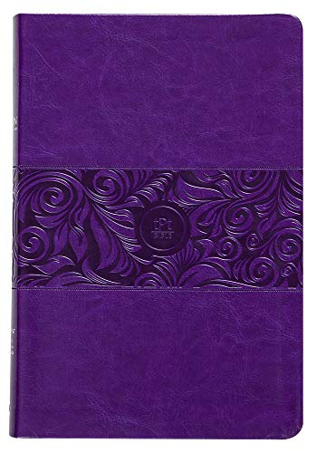Compare Textbook Prices for The Passion Translation New Testament, Violet, Large Print Faux Leather – In-Depth Bible with Psalms, Proverbs, and Song of Songs, Makes a Great Gift for Confirmation, Holidays, and More Large Print Edition ISBN 9781424558230 by Brian Simmons