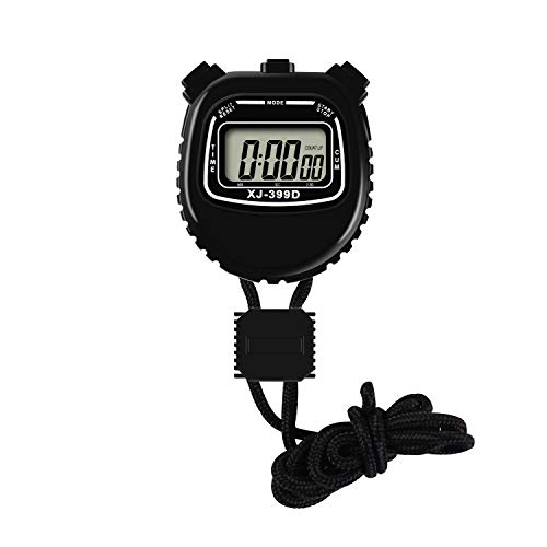 Pgzsy Digital Stopwatch Timer, Large Display Waterproof Stopwatch for Referee, Coach, Match.