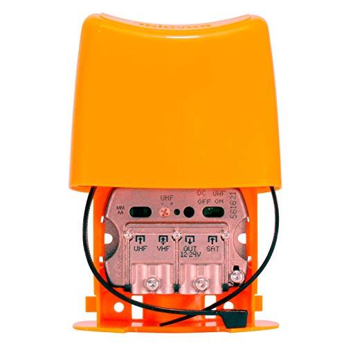 Amplificador De Mástil 3E/1S (UHF-Vhfmix-Fimix) con Filtro