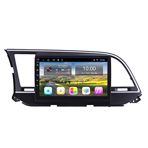 El Reproductor Multimedia Para Automóvil Es Adecuado Para El Automóvil Android Líder De Hyundai 2016-2018 Con Navegación GPS Bluetooth Integrada Navegación Táctil Completa 2G + 32GB,Low profile