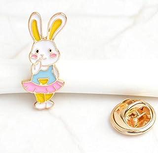Anstecknadel Kaninchen Kostüm-Zubehör (bunt)