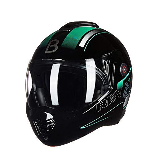 Casque moto hommes et femmes casque intégral casque moto (Couleur : C-Xl(59-60cm))