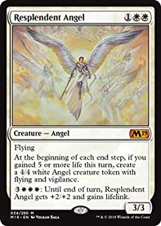 Demon 5//5 MTG MAGIC Eng HELVAULT PROMO Double Faced TOKEN Angel 4//4