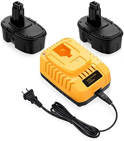 Powerextra 2Pack DC9096 Replacement Battery Compatible with Dewalt 18V XRP DC9099 DC9098 DW9099 product image