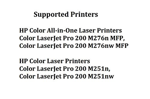 Calitoner Remanufactured Toner Cartridge Replacement for HP 131A ( Black,Cyan,Magenta,Yellow , 4-Pack ) Photo #5