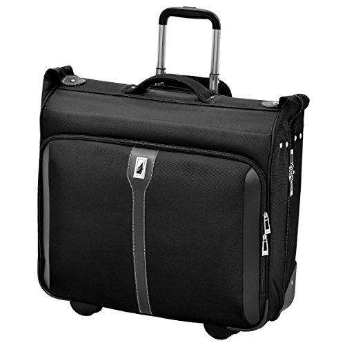 "London Fog Knightsbridge 44"" Wheeled Garment Bag, Black, One Size"