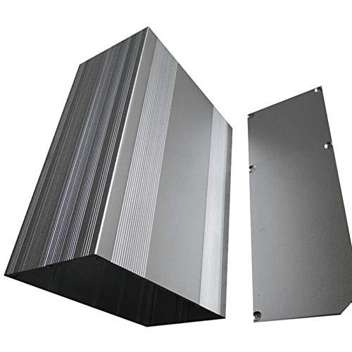 SUPERTOOL Aluminium-Instrumentenkasten, Aluminium-Projekt-Box, Elektronisches Gehäuse für PCB Board DIY