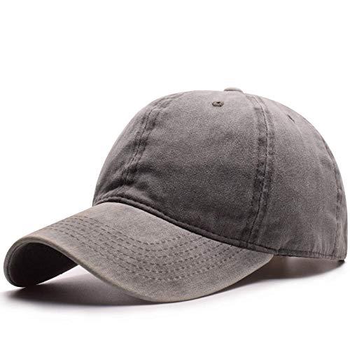 PPSTYLE Gorra de béisbol de algodón Lavado sólido Mujeres Hombres Sombreros Snapback Gorras para Hombres Gorra de Sombrero de papá Hombres