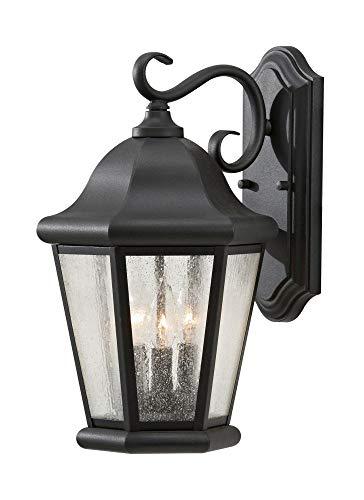 Murray Feiss Ol5902bk Martinsville (43,2 cm 3 lumière Lanterne d'extérieur Applique murale, Noir