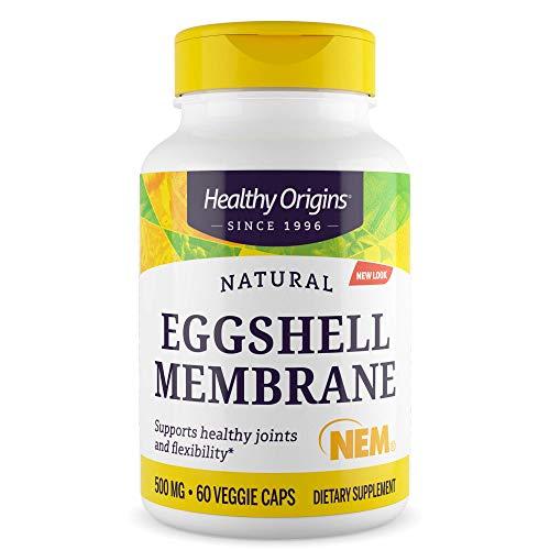 Healthy Origins, Eierschale Membran 500 mg, 60 Veggie Caps