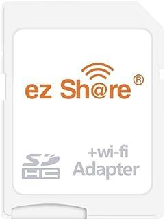 OSEI 無線LAN搭載 ez Share Wi-Fi SDHCカード Wi-fi内蔵カード Wi-Fi カード WiFi付きSDカード 無線LAN搭載SDHCメモリーカード Class10 最新世代 (Wi-Fi microSDアダプター)