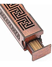 SMARCO Wooden Incense Burner with Oud sticks
