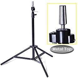 small Smilco adjustable wig mannequin head tripod extended version for beautician cosmetology …