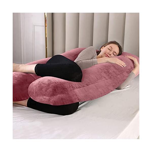Hiputee Washable Fabric U Shape Pregnancy Pillow India