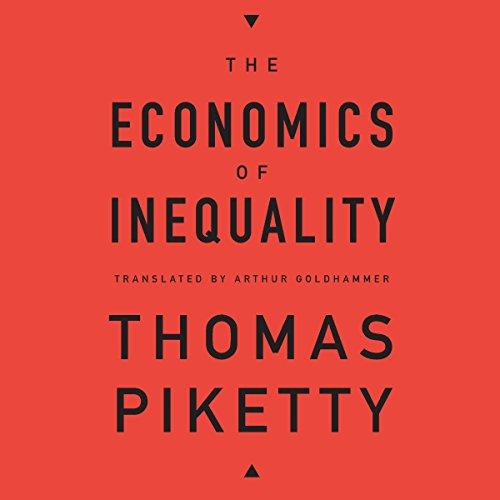 The Economics of Inequality audiobook cover art