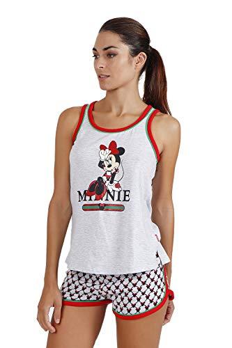 Disney Pijama Tirantes Minnie Cool para Mujer