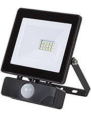 Perel leda6001nw de BP LED de Foco exterior, 10W, Negro, Blanco Neutro