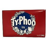 Typhoo Tea Bags (240 per pack) Typhooティーバッグ(パックあたり240 )